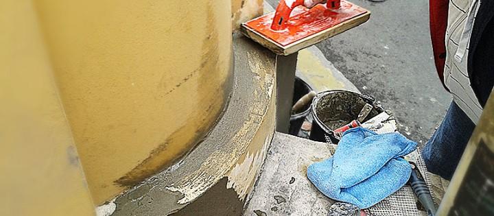 Oprava fasády Brno